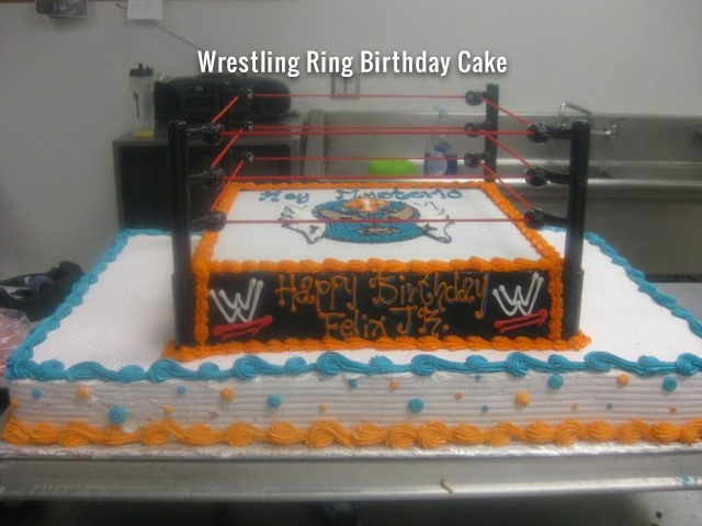 wrestling-ring-birthday-cake