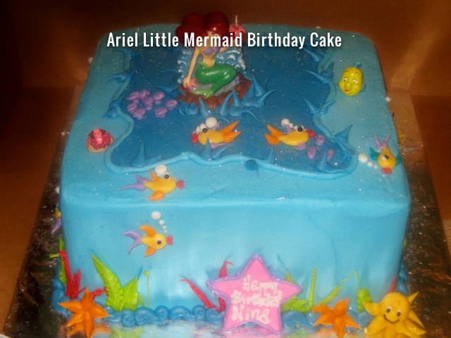 ariel-the-little-mermaid-birthday-cake