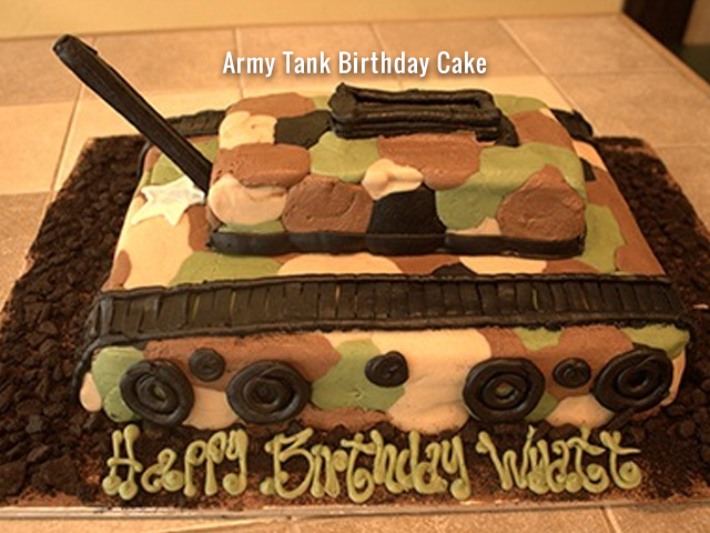 army-tank-birthday-cake