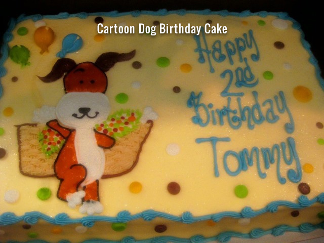 cartoon-dog-birthday-cake