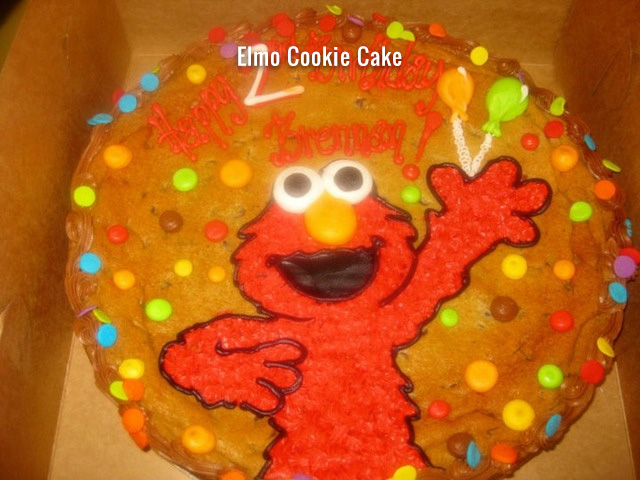 elmo-cookie-cake