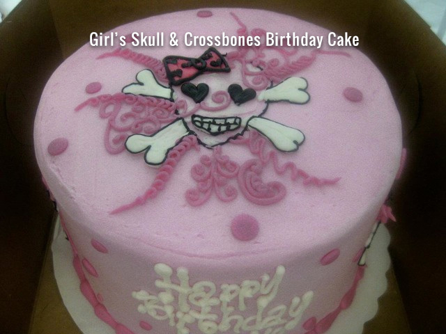 girls-skull-crossbones-birthday-cake