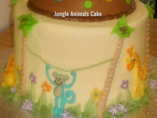 jungle-animals-cake