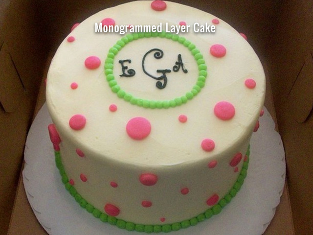 monogrammed-layer-cake