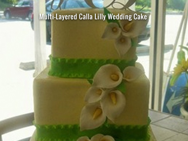 multilayered-calla-lily-wedding-cake