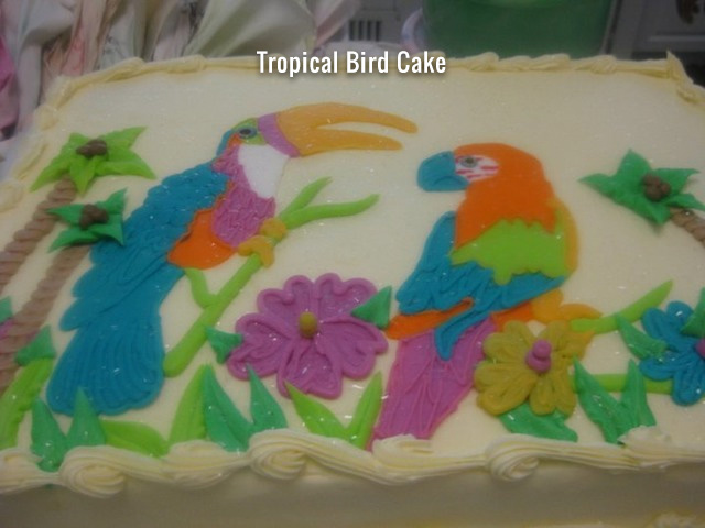 tropical-bird-cake