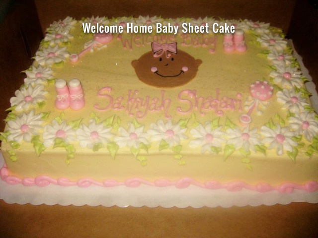 welcome-home-baby-sheet-cake