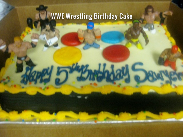 wwe-wrestling-birthday-cake